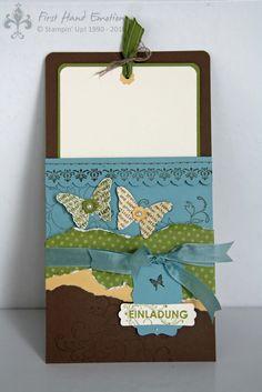 First Hand Emotion: Schmetterlinge zum Dritten