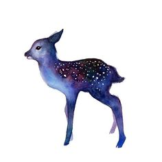 Dawn Fawn  I love to create tiny illustrations and vibrant watercolours... I have decided to (re) take my promise to create more art - finding time for what fulfills my heart ❤❤ Drawing takes me to another planet ...If anything that feels right from within, is to keep drawing 🎠😍 #illustration #watercolor #aquarelle #deer #instart #instartist #art🎨 #artisourway #penandink #drawing #keepdrawing