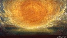 George Frederick Watts - After the Deluge:The Fortyfirst Day.