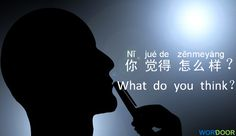Chinese Daily Sentences – What do you think of Chinese language??