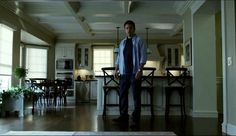 "Yes, we know, ""Gone Girl"" gets pretty dark. But would you just look at that immaculate kitchen?   - TownandCountryMag.com"