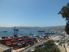 Hafenstadt Valparaíso