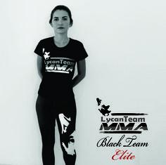Camiseta Black Team Elite | MMA #LycanFightWear #MMA #LycanBlackTeamElite #FightWear
