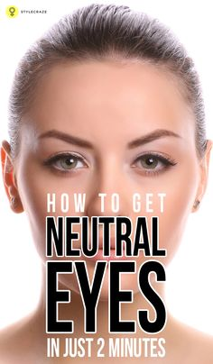 While the dress and the shoes can be sorted, its your hair and the makeup that eats away time. So what do you do? You opt for a simple yet gorgeous 2 minute neutral eye makeup to brighten up those beautiful eyes. Neutral Eye Makeup Tutorial – 2 Minute Neutral Eyes  #eyemakeup
