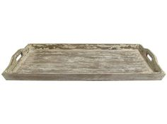 Oversized Distressed Wood Tray | Shop Hobby Lobby