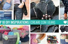 10 Ispirazioni – Creare con i jeans