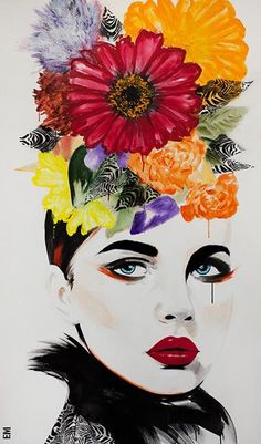 beautifulbizzzzarreart: Gorgeous new work by Emma Sheldrake artist ♥ Check out her featured in the Dec issue of #beautifulbizarremagazine h...