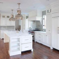 Beaded Inset Cabinets, Transitional, kitchen, L. Kae Interiors