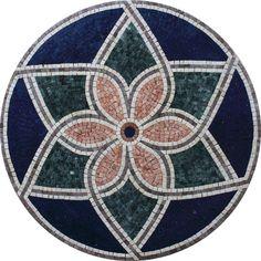 Mosaic Patio Table, Mosaic Tray, Mosaic Tile Art, Mosaic Crafts, Marble Mosaic, Stone Mosaic, Mosaic Designs, Mosaic Patterns, Mosaic Stepping Stones