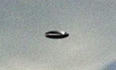 Close-up of the Wooloowin UFO. (Credit: Brisbane UFO Sightings Facebook page)