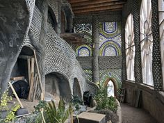 """These Otherworldly """"Earthships"""" Offer Visitors Unusual, Off-the-Grid Accommodations Conceptual Model Architecture, Space Architecture, Futuristic Architecture, Sustainable Architecture, Amazing Architecture, Contemporary Architecture, Residential Architecture, Earthship Home, Arquitetura"""