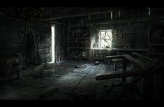 FrozenHut Interior by M3-f.deviantart.com on @deviantART