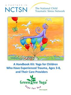 GreenTREE Yoga - Yoga for children who have experienced trauma. Kit. Love this bu it is $$!