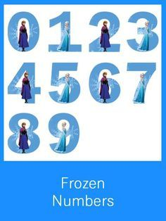 Frozen Numbers - FREE PDF Download