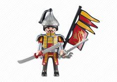 Red Dragon Knights Leader - PLAYMOBIL® USA