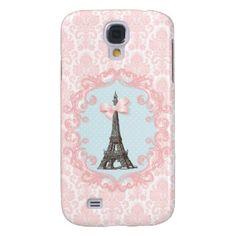 Paris Vintage Galaxy S4 Covers