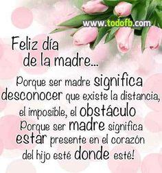 Felicidades Madres...