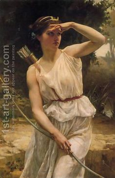 Diana Hunting by Guillaume Seignac