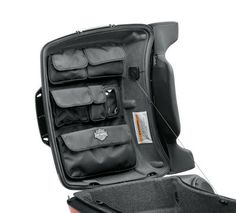 Tour-Pak Lid Fitted Lining with Organizer - Gray-53000302 - For Dad?