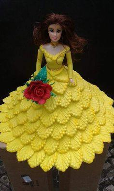 Barbie Dolls Diy, Barbie Cake, Barbie Dress, Diy Doll, Barbie Clothes, Crochet Barbie Patterns, Crochet Doll Dress, Crochet Doll Clothes, Doodle Art Designs
