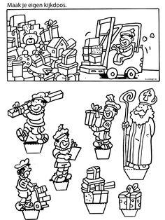Sinterklaas Kijkdoos Maken