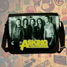 NEW HOT!!! Asking Alexandria Messenger Bag, Laptop Bag, School Bag, Sling Bag for Gifts & Fans #05