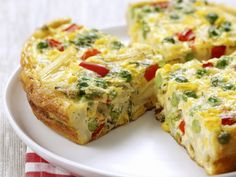 Pasta-omelet met groenten - Libelle Lekker!