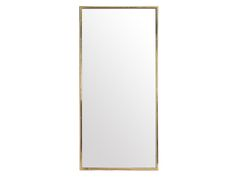 Rect Floor Mirror - Gold