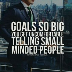 Goals so BIG. Yes, sometimes you don't even want to talk to certain people Want more inspiration? www.inspirecast.ca