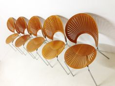 Trinidad chairs by  Nanna Ditzel Danish Design