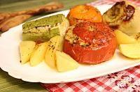 Zacusca de dovlecei(varianta rapida si sanatoasa) - LaLena.ro Cantaloupe, Fruit, Food, Meal, Hoods, Eten, Meals