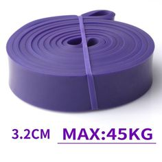 Pilates Stretch Resistance Band Exercise Expander Elastic Band Pull Up Assist Bands for Pilates Fitness Training Home Workout - 1pc purple band
