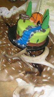 Grooms Cake #2-The Hunt is Over