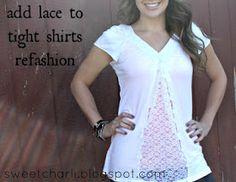 donneinpink magazine: Come allargare magliette e camicie che ci vanno strette