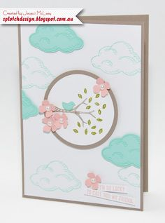 Splotch Design - Jacquii McLeay Independent Stampin' Up! Demonstrator: Sprinkles of Life Cards