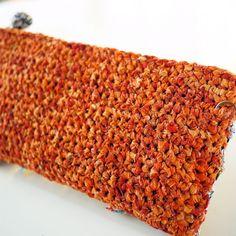 Liberty of London sakiami crochet clutch purse