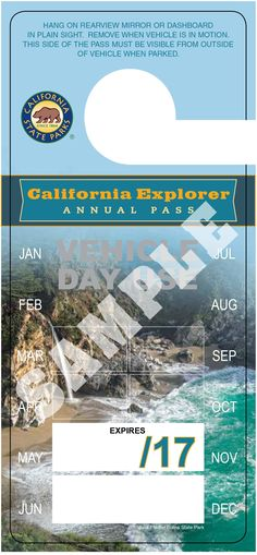 Wilder Ranch State Park Sticker Explore Wanderlust Camping California
