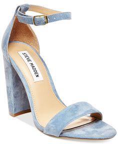 Steve Madden Women's Carrson Ankle-Strap Dress Sandals - Sandals - Shoes - Macy's