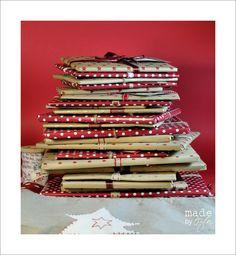 Un livre à lire chaque soir pour attendre Noël, je trouve l'idée géniale ♥♥♥ Calendrier de l'Avent | Made by Ozen