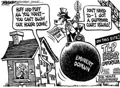 Eminent Domain Cartoons Google Search