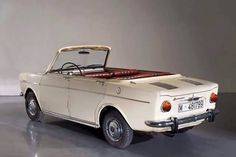 OG   Simca 1000 Torpedo Barreiros   Only 2 convertible prototypes used for visiting the spanish plant of Villaverde.