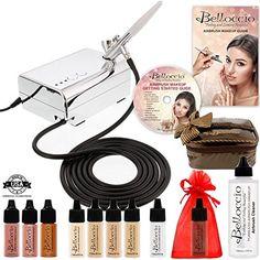 Belloccio Fair Shade Airbrush Makeup Foundation Set * Read more @ http://www.passion-4fashion.com/beauty/belloccio-fair-shade-airbrush-makeup-foundation-set/?yx=100716203509