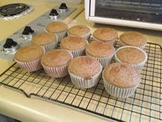 Blueberry Applesauce Muffins from the Volumetric eating plan