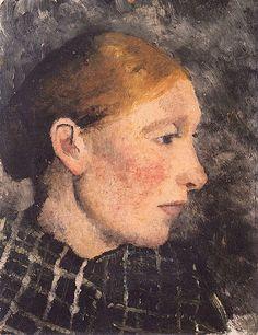 Billedresultat for paula modersohn-becker Paula Modersohn Becker, Female Painters, Art Japonais, Portraits, A4 Poster, Woman Drawing, Vintage Artwork, Figure Painting, Artist Art