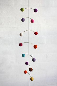 DNA Mobile-Multicolor Felt