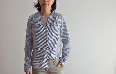 blusa handmade patrón Bellah de Naehconnection shop