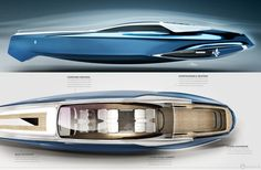 Rolls-Royce 450EX luxury yacht concept brings refinement to the seas... :)