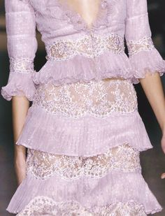 Valentino Haute Couture Spring 2006. Wouldn't you love to wear this in the spring? How about with a pair of his bow shoes?