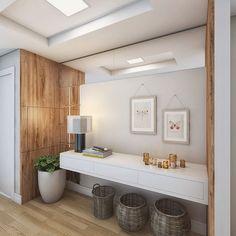 Projeto de interiores para hall. Painel em MDF com porta em sistema tip on para esconder o quadro de energia. Projeto Guapo Arquitetura e Interiores. #projeto #arquitetura #arquiteta #designdeinteriores #arquiteturadeinteriores #interiores #hall #instadecor #decor #interiordesign #architect #architecture #render #3D #sketchup #vray #3dsmax #vrayrender #instarender #decoration #archviz #arquitectura #maqueteeletronica #homedecor #homedesign #decorideas