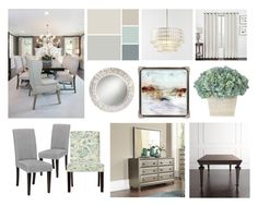 """dining"" by colyflower on Polyvore featuring interior, interiors, interior design, home, home decor, interior decorating, Home Decorators Collection and West Elm"